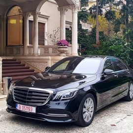 Private airport transfers in Bucharest - Professional chauffeur | Car rental with driver in Romania